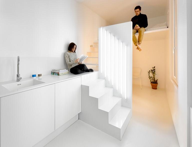 Маленькие квартиры студии в париже